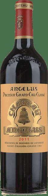 CHATEAU ANGELUS 1er grand cru classe (A), St-Emilion 2011