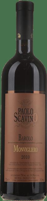 PAOLO SCAVINO Monvigliero, Barolo DOCG 2010