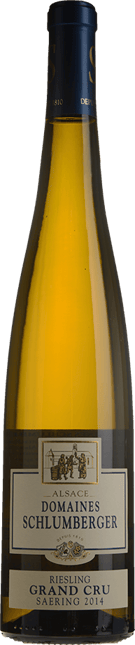 DOMAINES SCHLUMBERGER Saering Grand Cru Riesling, Guebwiller 2014