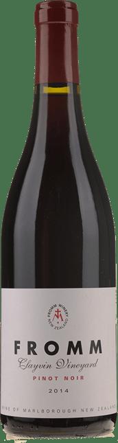 FROMM WINERY Clayvin Vineyard Pinot Noir, Marlborough 2014