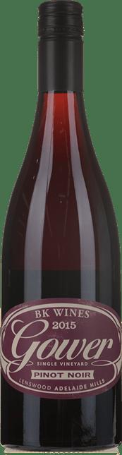 BK WINES Gower Pinot Noir Pinot Noir, Adelaide Hills 2015