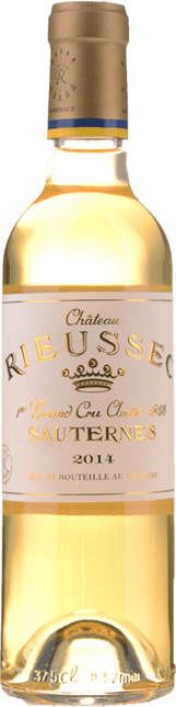 CHATEAU RIEUSSEC 1er cru classe, Sauternes 2014