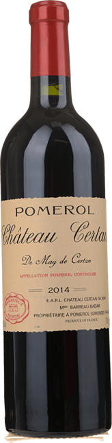 CHATEAU CERTAN-DE-MAY, Pomerol 2014
