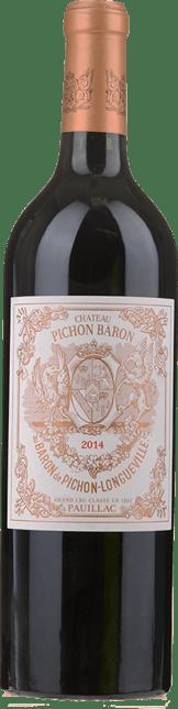 CHATEAU PICHON-LONGUEVILLE BARON 2me cru classe, Pauillac 2014