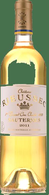 CHATEAU RIEUSSEC 1er cru classe, Sauternes 2011