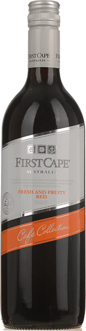 FIRST CAPE Cafe Collection Fresh and Fruity Red, Australia NV