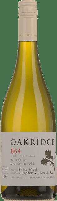 OAKRIDGE ESTATE 864 Funder & Diamond Vineyard Drive Block Chardonnay, Yarra Valley 2014
