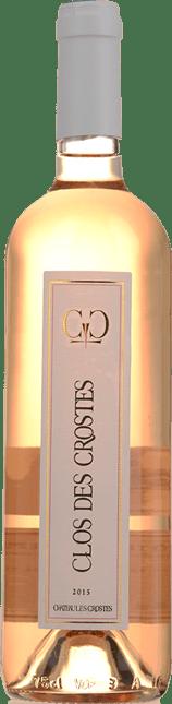 CHATEAU LES CROSTES Clos Des Crostes Rose, Cotes de Provence 2015