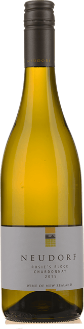 NEUDORF VINEYARDS Rosie's Block Chardonnay, Nelson 2015