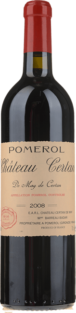 CHATEAU CERTAN-DE-MAY, Pomerol 2008