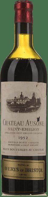 CHATEAU AUSONE 1er grand cru classe (A), St-Emilion 1952