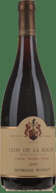 DOMAINE PONSOT Cuvee Vieilles Vignes, Clos de la Roche 2009