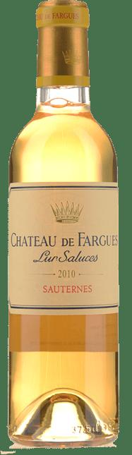 CHATEAU DE FARGUES, Sauternes 2010
