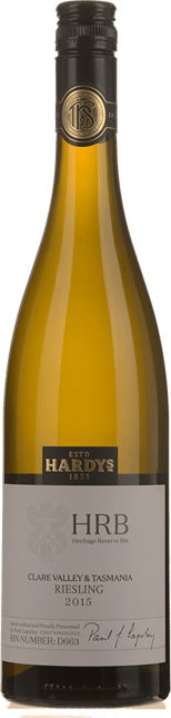 HARDY'S HRB Riesling D663 Clare Valley & Tasmania 2015