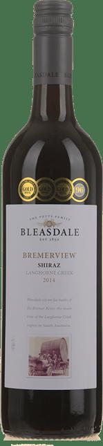 BLEASDALE VINEYARD Bremerview Shiraz, Langhorne Creek 2014
