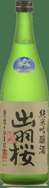 DEWAZAKURA Dewa Sansan Junmai Ginjo Sake, Japan NV