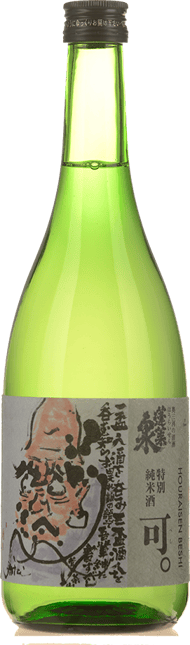 HOURAISEN Beshi Tokubetsu Junmai Sake, Japan NV