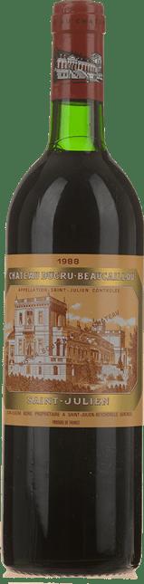 CHATEAU DUCRU-BEAUCAILLOU 2me cru classe, St-Julien 1988