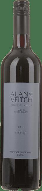 ROBERT JOHNSON VINEYARDS Alan & Veitch Merlot, Adelaide Hills 2013