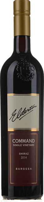 ELDERTON Command Single Vineyard Shiraz, Barossa Valley 2014
