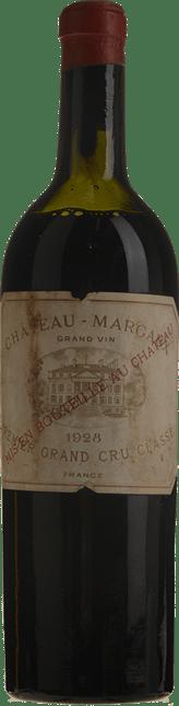 CHATEAU MARGAUX 1er cru classe, Margaux 1928