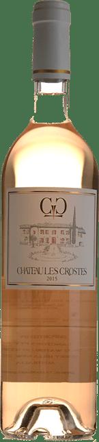 CHATEAU LES CROSTES Rose, Cotes de Provence 2015