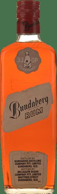BUNDABERG Red Cap 33 OP 76.1% ABV 1961-1973 Bottling, Bundaberg NV