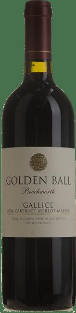 GOLDEN BALL Gallice Cabernet Merlot Malbec, Beechworth 2004