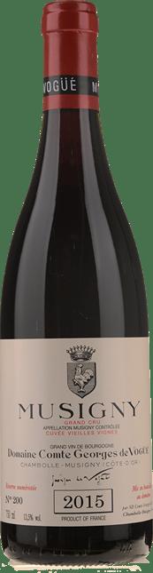 DOMAINE COMTE GEORGES DE VOGUE Cuvee Vieilles Vignes, Musigny 2015