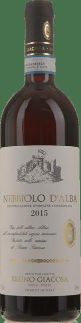 BRUNO GIACOSA, Nebbiolo d'Alba 2015