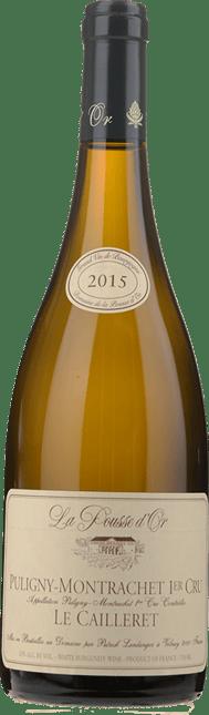 DOMAINE DE LA POUSSE D'OR Le Cailleret 1er Cru, Puligny-Montrachet 2015