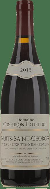 DOMAINE CONFURON COTETIDOT Les Vignes-Rondes 1er Cru, Nuits-St-Georges 2015