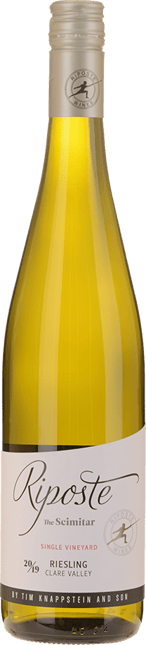 RIPOSTE BY TIM KNAPPSTEIN The Scimitar Riesling, Clare Valley 2019