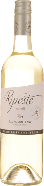 RIPOSTE BY TIM KNAPPSTEIN The Foil Sauvignon Blanc, Adelaide Hills 2019