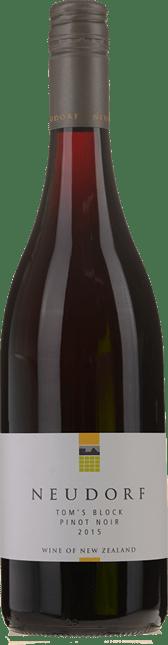 NEUDORF VINEYARDS Tom's Block Pinot Noir, Nelson 2015