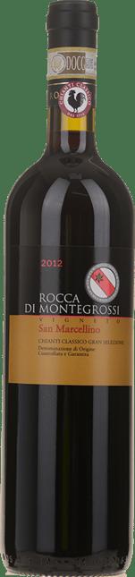ROCCA DI MONTEGROSSI San Marcelino , Chianti Classico DOCG, Chianti Classico DOCG 2012