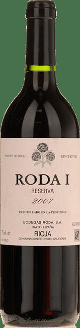 BODEGAS RODA Roda 1 Reserva, Rioja 2007
