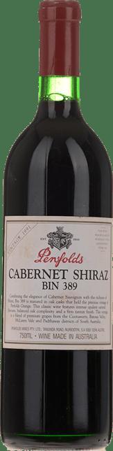 PENFOLDS Bin 389 Cabernet Shiraz, South Australia 1991