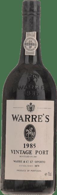 WARRES Vintage Port, Oporto 1985
