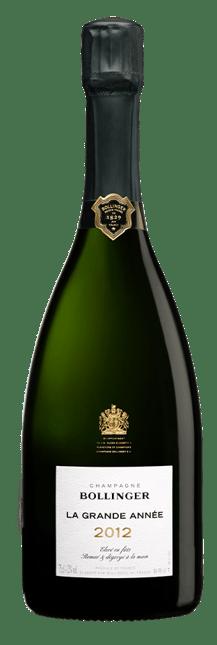 BOLLINGER La Grande Annee Brut, Champagne 2012