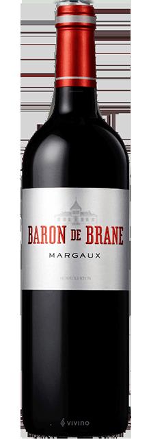 LE BARON DE BRANE Second wine of Chateau Brane-Cantenac, Margaux 2016