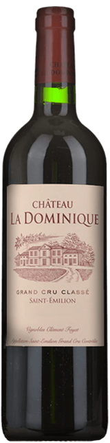 CHATEAU LA DOMINIQUE Grand cru classe, St-Emilion 2018