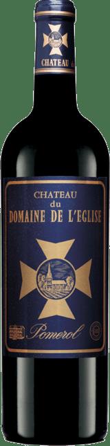 CHATEAU du DOMAINE DE L'EGLISE Pomerol 2019