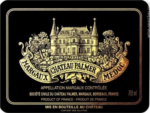 CHATEAU PALMER 3me cru classe, Margaux 2018