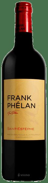FRANK PHELAN Second wine of Chateau Phelan-Segur, St-Estephe 2016