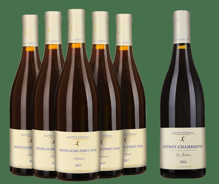 LANGTONS Essential Jerome Galeyrand Burgundy Bonus Six-Pack MV