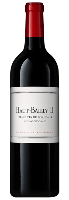HAUT BAILLY II Second wine of Chateau Haut-Bailly, Pessac-Leognan 2019