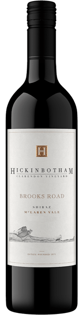 HICKINBOTHAM WINERY Brooks Road Shiraz, McLaren Vale 2018