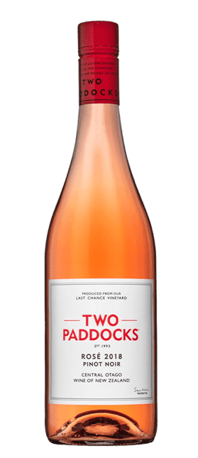 TWO PADDOCKS Rose, Central Otago 2018